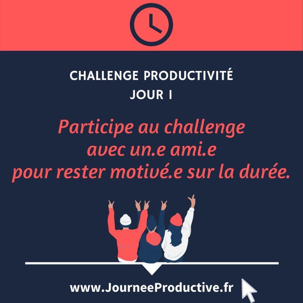 Participer à deux pour réussir un challenge