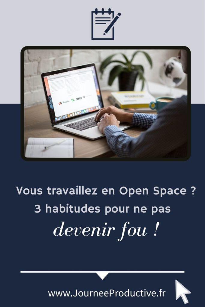 productivité en open space