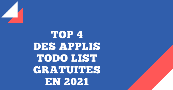 top applications todo liste